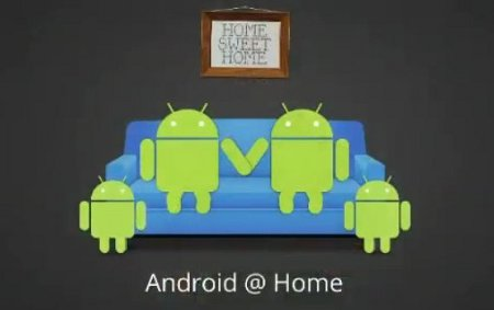 Android@Home domotica Google I/O Tungsten