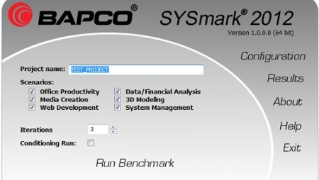 AMD lascia BAPCo SYSMark 2012 non è affidabile