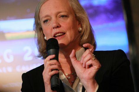Meg Whitman CEO HP