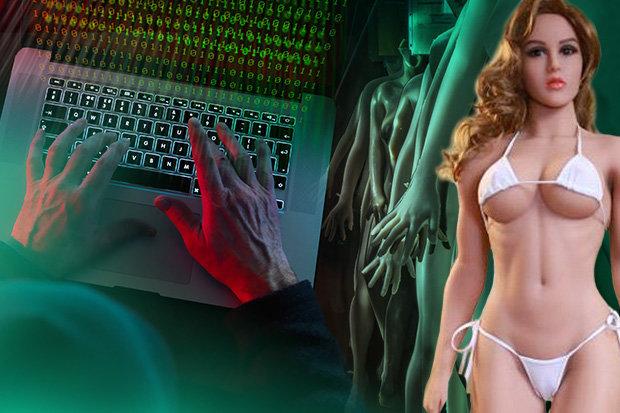 Hackers sex robot
