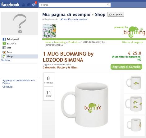 facebook blomming