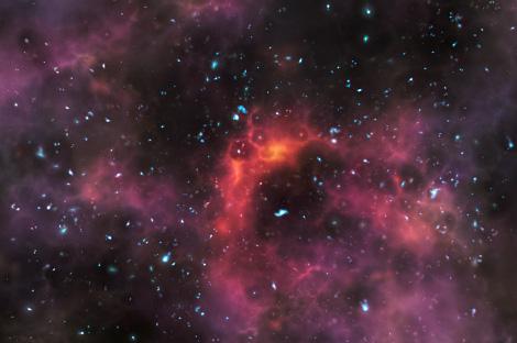 Galassie primordiali ESO VLT 13 miliardi di anni