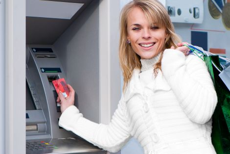 bancomat scansione palmo giappone