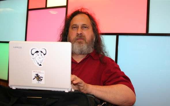 stallman microsoft linux