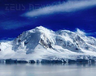 Un ghiacciaio dell'Antartide.
