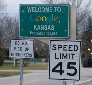 Topeka cambia nome Google Kansas