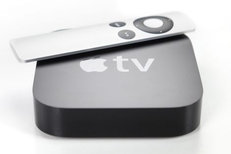 apple tv console