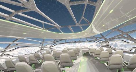 L'aereo trasparente di Airbus