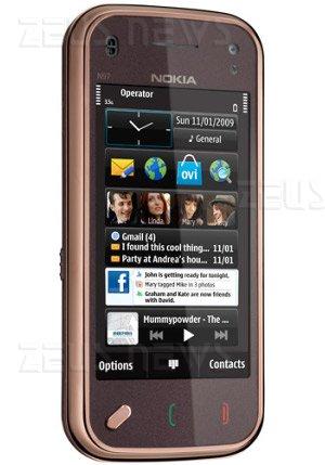 Nokia N97 Mini Ovi Lifecasting Facebook