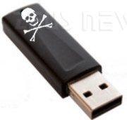 Una chiavetta USB