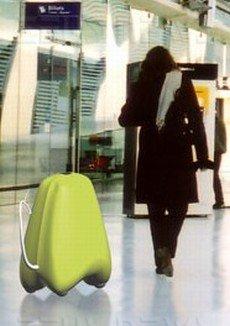 fido luggage, la valigia che vi segue