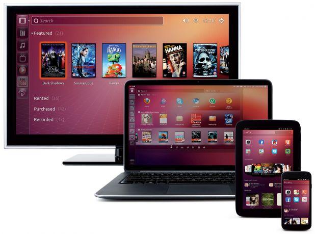 ubuntu tv pc smartphone tablet