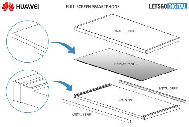 huawei full screen smartphone