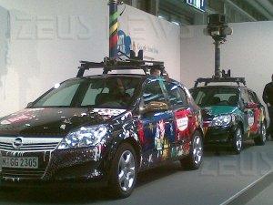 Google Street View CeBit Hannover 2010