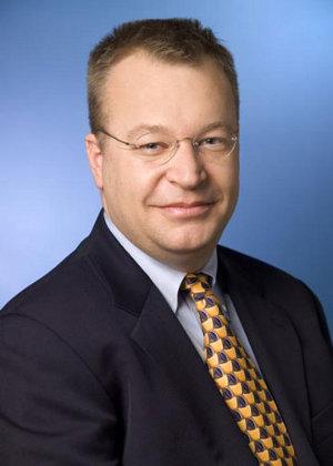 Stephen Elop Ceo Nokia Kallasvuo smartphone