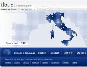 L'home page di Italia.it