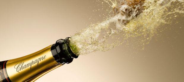 champagne riscaldamento