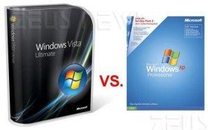 Windows Xp contro Vista