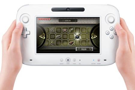 Nintendo Wii U controller touchscreen 6,2 pollici
