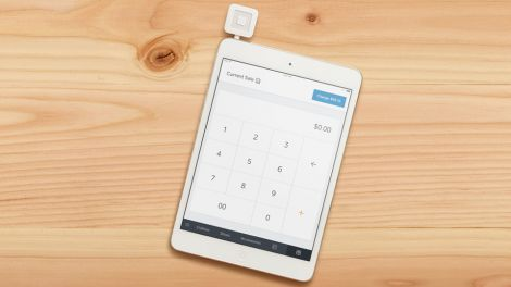 square register reader ipad