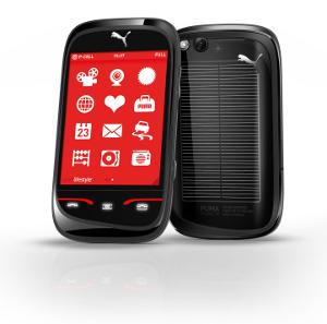 Sagem Wireless PUMA Phone pannello solare
