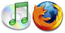 Loghi di Firefox e iTunes