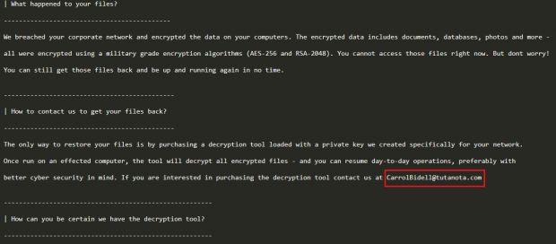 honda ransomware