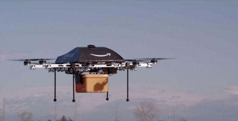 amazon google ups droni