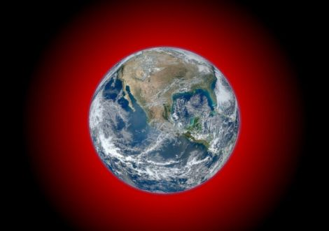infrared earth