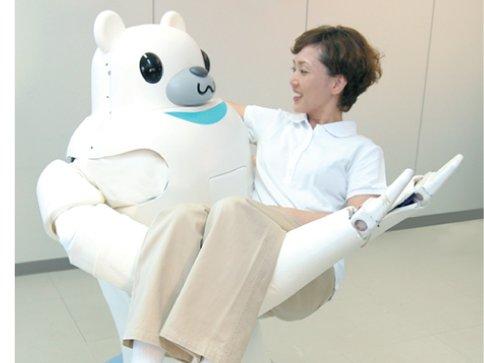 RIBA-II badante roboto Giappone