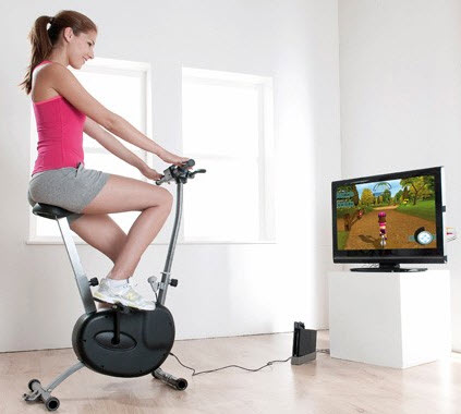 Wii Cyberbike cyclette Bigben interactive