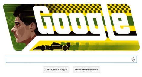 google doodle ayrton senna