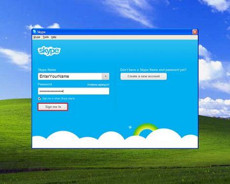garante skype account