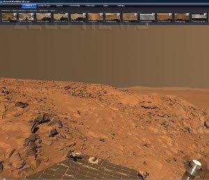 Microsoft WorldWide Telescope Marte Google Sky