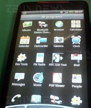 HTC Supersonic Sprint Nextel WiMax