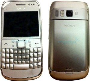 Nokia E6-00 prime immagini