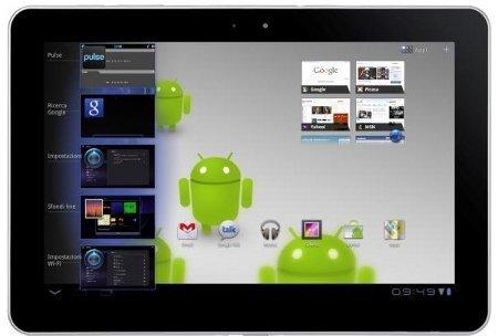 Samsung Galaxy S II Tab 10.1 in Italia