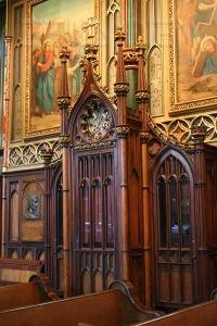 Confessionale, di tipo tradizionale, non online (f