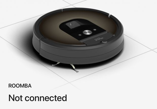 roomba not connected