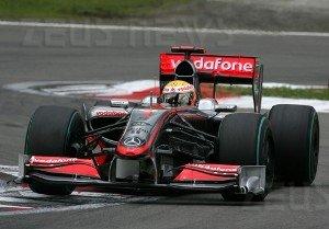 McLaren F1 Olimpiadi Londra 2012
