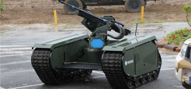 lethal autonomous weapons