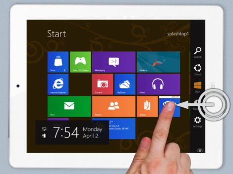 windows 8 iPad