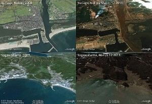 Giappone Google Earth