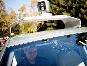 Google auto guida da sola Thrun San Francisco