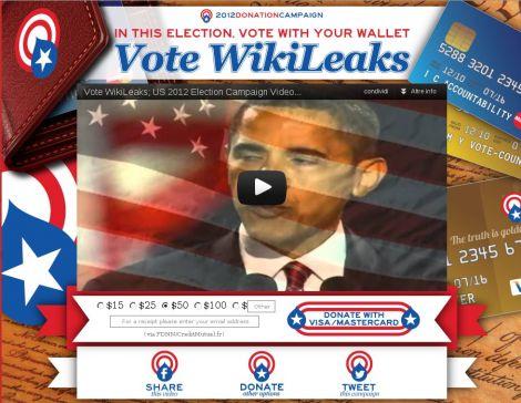wikileaks donazioni anonymous