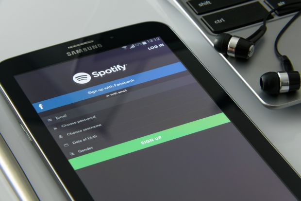 spotify password azzerate