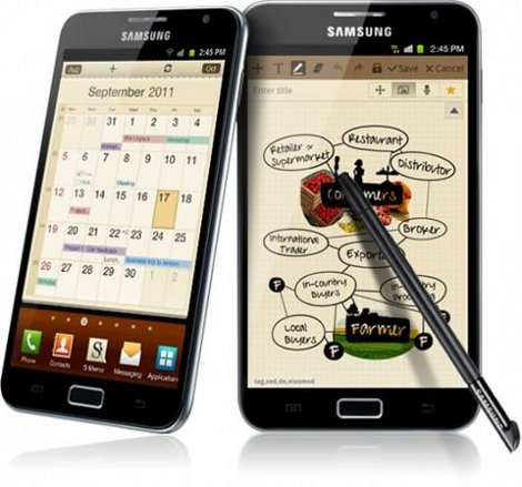 samsung galaxy note 1 milione