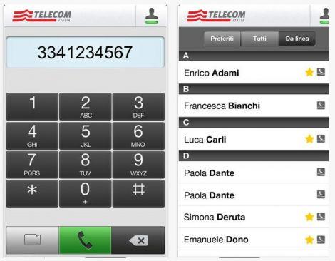 telecom app telefono di casa