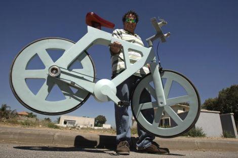 bicicletta cartone 2