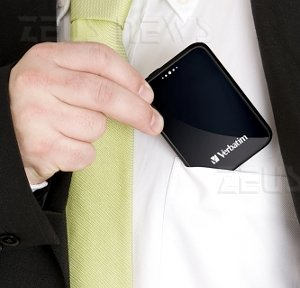 Verbatim Pocket Driver 1,8 pollici 250 Gbyte